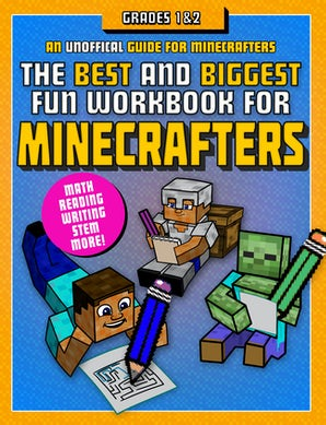 The Best and Biggest Fun Workbook for Minecrafters Grades 1 & 2 book image