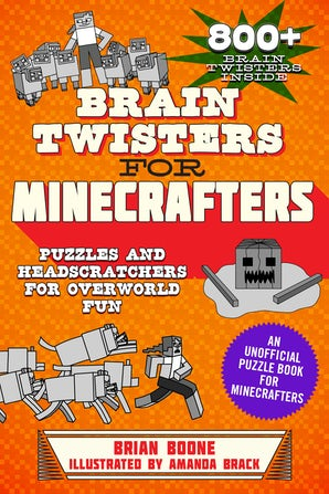 Brain Twisters for Minecrafters book image