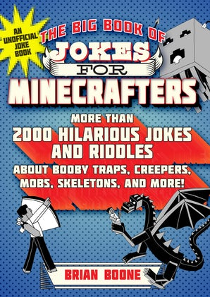 The Big Book of Jokes for Minecrafters book image