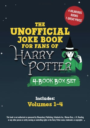 The Unofficial Harry Potter Joke Book 4-Book Box Set book image