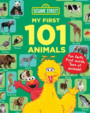 Sesame Street My First 101 Animals book image