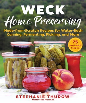 WECK Home Preserving book image
