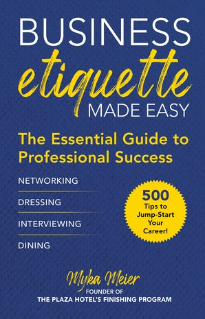 Business Etiquette Made Easy book image