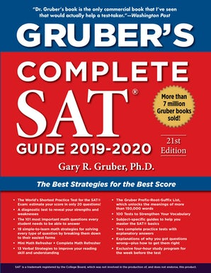 Gruber's Complete SAT Guide 2019-2020