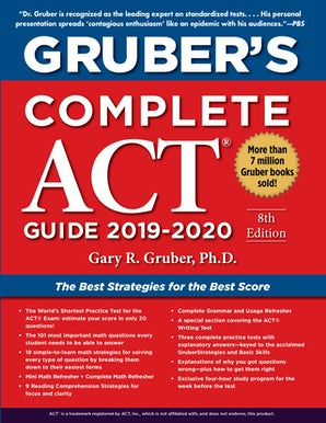 Gruber's Complete ACT Guide 2019-2020 book image