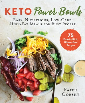 Keto Power Bowls book image
