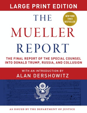 The Mueller Report - Large Print Edition book image