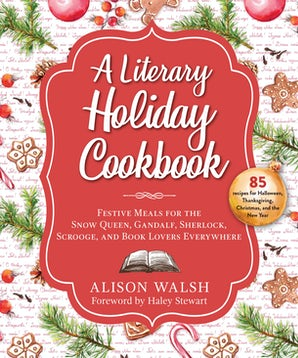 A Literary Holiday Cookbook book image