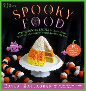Spooky Food book image