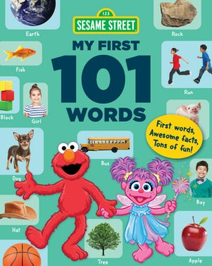 Sesame Street My First 101 Words