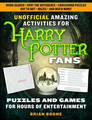 Unofficial Amazing Activities for Harry Potter Fans