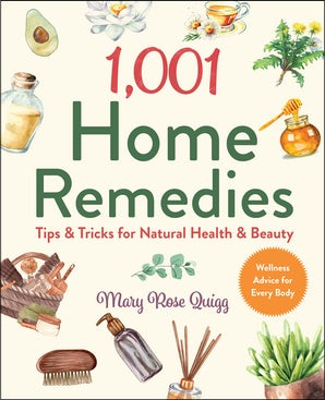 1,001 Home Remedies book image