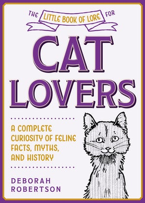 The Little Book of Lore for Cat Lovers book image