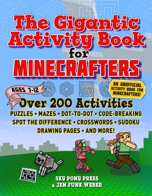 The Gigantic Activity Book for Minecrafters book image