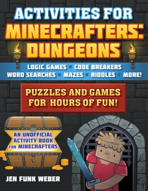 Activities for Minecrafters: Dungeons book image