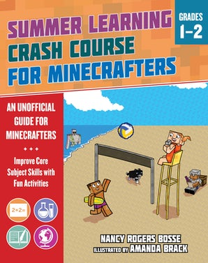 Summer Learning Crash Course for Minecrafters: Grades 1–2 book image