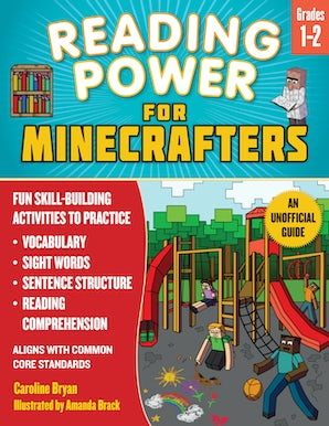 Reading Power for Minecrafters: Grades 1 & 2