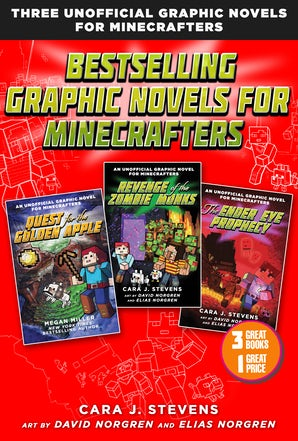 Bestselling Graphic Novels for Minecrafters (Box Set) book image