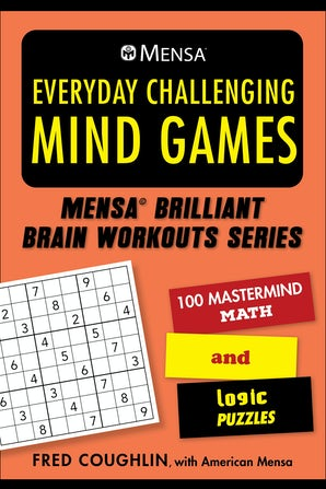 Mensa® Everyday Challenging Mind Games book image