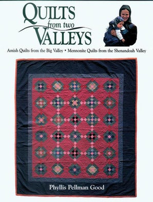 Quilts from two Valleys book image