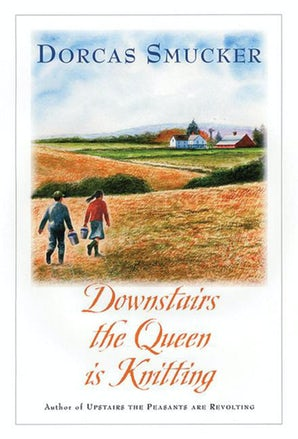 Downstairs the Queen is Knitting book image