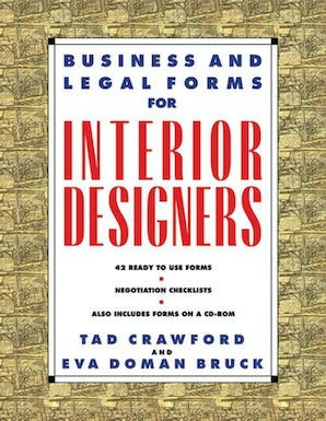 Business and Legal Forms for Interior Designers book image