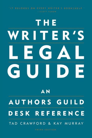 The Writer's Legal Guide book image