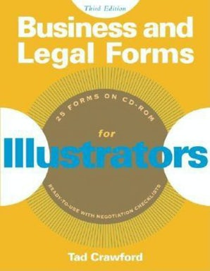 Business and Legal Forms for Illustrators book image