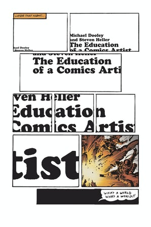 The Education of a Comics Artist book image