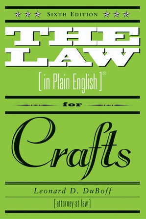 The Law (in Plain English) for Crafts book image