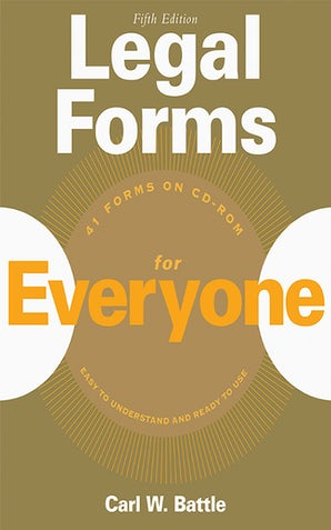 Legal Forms for Everyone book image