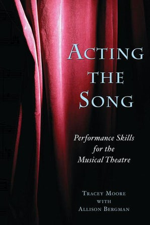 Acting the Song book image