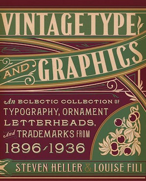 Vintage Type and Graphics book image
