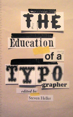The Education of a Typographer book image