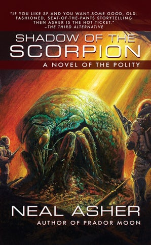 Shadow of the Scorpion book image