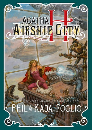 Agatha H. and the Airship City book image