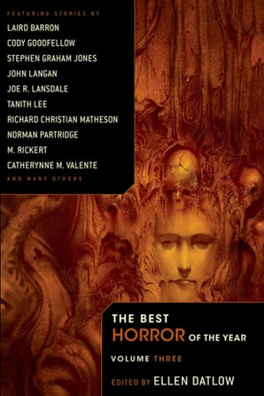 The Best Horror of the Year Volume 3 book image