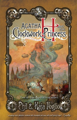 Agatha H. and the Clockwork Princess book image