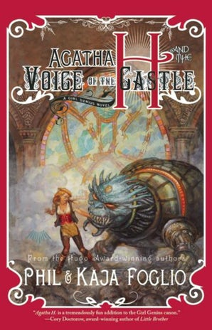 Agatha H. and the Voice of the Castle book image