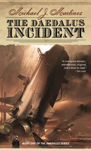 The Daedalus Incident book image