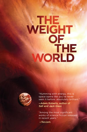 The Weight of the World book image