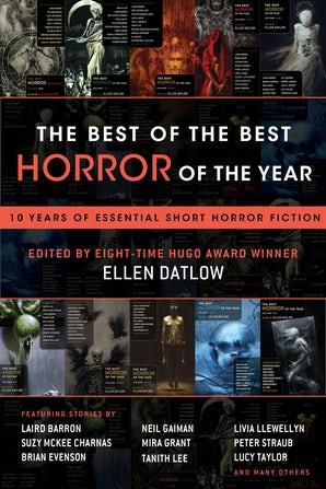 The Best of the Best Horror of the Year book image