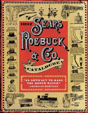 1897 Sears, Roebuck & Co. Catalogue book image