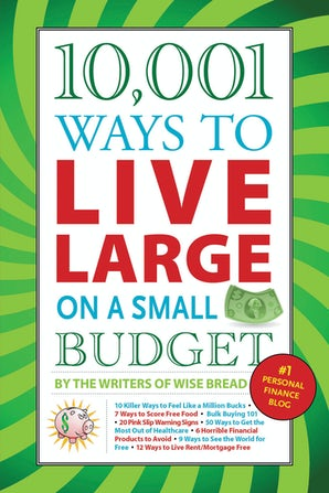 10,001 Ways to Live Large on a Small Budget book image
