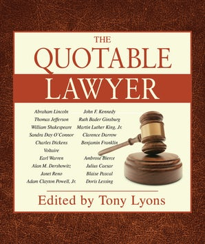 The Quotable Lawyer book image