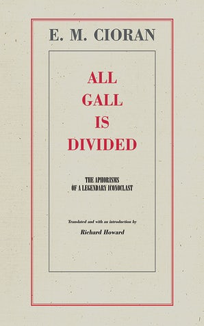 All Gall Is Divided book image