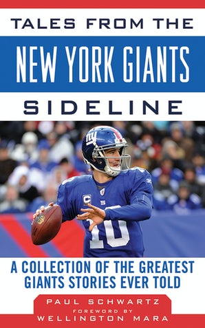 Tales from the New York Giants Sideline book image