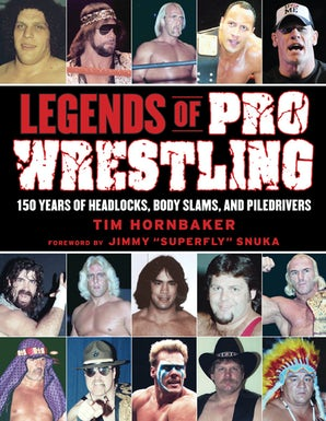 Legends of Pro Wrestling book image