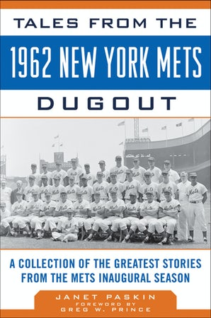 Tales from the 1962 New York Mets Dugout book image