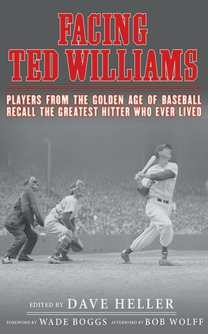 Facing Ted Williams book image